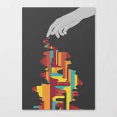 Colourbleed Canvas Print