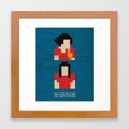 Fell In Love With a Girl Framed Art Print