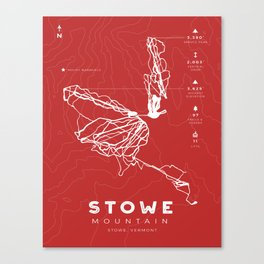 Stowe Mountain Canvas Print