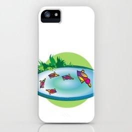 Lucky Ducks iPhone Case