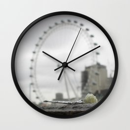 some peace in our mind Wall Clock