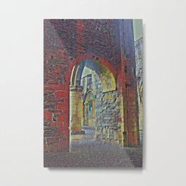 Gaelic Arches Part 2 Metal Print