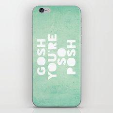 Gosh (Posh) iPhone & iPod Skin