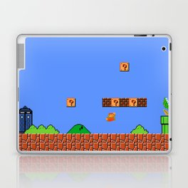 Dr. Mario? No...Doctor Who? Laptop & iPad Skin