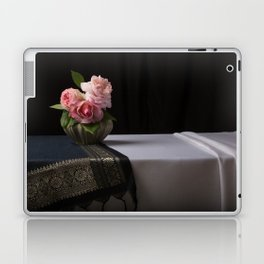 Roses and silk still life Laptop & iPad Skin
