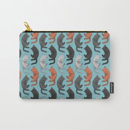 Sleeping Cats Pattern Carry-All Pouch