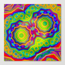 Segmentation Canvas Print