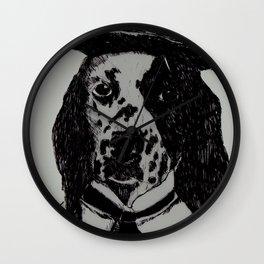 Dog Chaplin Wall Clock