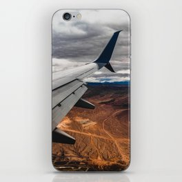 wing over mars iPhone Skin