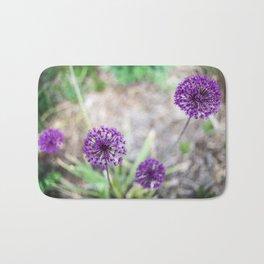 Purple Allium Bath Mat