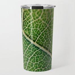 Veins of a leaf Travel Mug