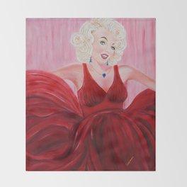 Dazzling Marilyne | Éblouissante Marilyne Throw Blanket