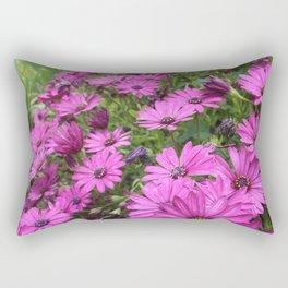 Daisies Spring In All Its Splendor Rectangular Pillow