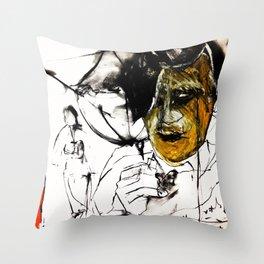 Chaucer Throw Pillow