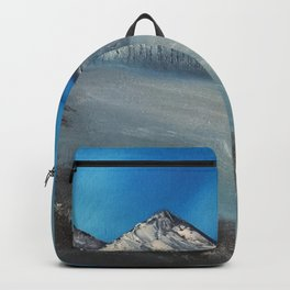 Sparkling winter ice Backpack