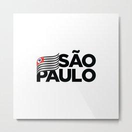 São Paulo, Brazil Metal Print