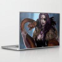 vespa Laptop & iPad Skins featuring VESPA by KlsteeleArt