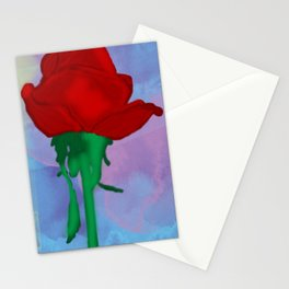Painted Rose Stationery Cards