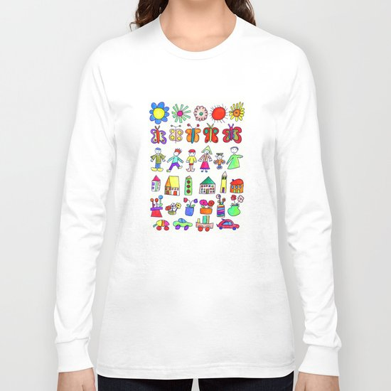 children at home Long Sleeve T-shirt