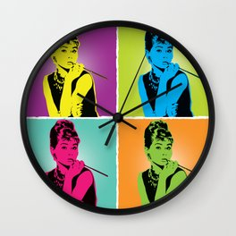 Miss Audrey Wall Clock