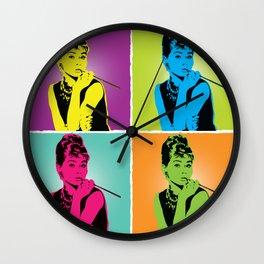 Miss Audrey Wall Clock