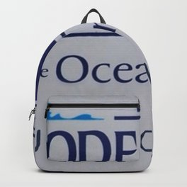 Welcome to Rhode Island - NOW KNOCK IT OFF! Governor's Admonition Logo Backpack