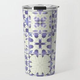 Flower Bell Azulejos Travel Mug