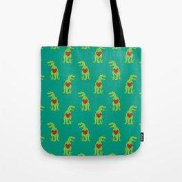T-rex Love Tote Bag