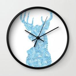 Hello, Deer Wall Clock