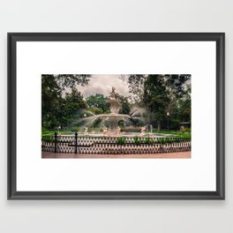 How it is Done in the South Framed Art Print