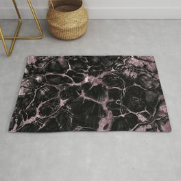 Undefined Mauve Gold Abstract #1 #decor #art #society6 Rug