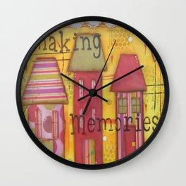 Making Memories Wall Clock