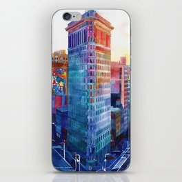 Flatiron iPhone Skin