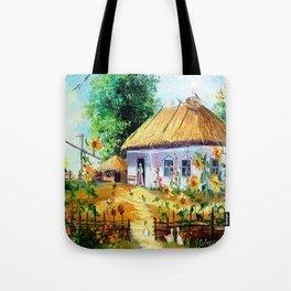 Ukrainian village Tote Bag