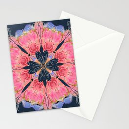 Mandala Roseburst Stationery Cards