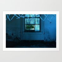 In the Window Art Print