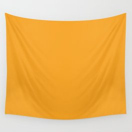 Gold - Solid Color Collection Wall Tapestry
