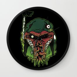 Monster Fett Wall Clock