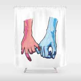 Hold on Loosely Shower Curtain