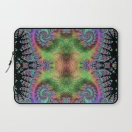 Psychedelic Fractal Kaleidoscope Laptop Sleeve