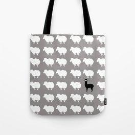Don't be a sheep, Be a Llama Tote Bag