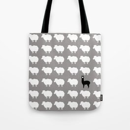 Don't be a sheep, Be a Llama Tote Bag