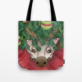 Baby Reindeer Tote Bag