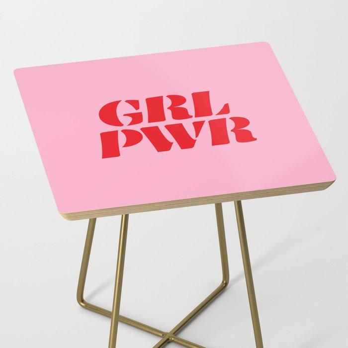 Girl Power GRL PWR Side Table