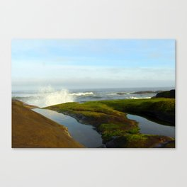 Good Morning Yachats Oregon! Canvas Print