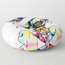 Rhinestoned Floor Pillow