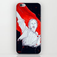 enjolras iPhone & iPod Skins featuring Enjolras by 723blinks