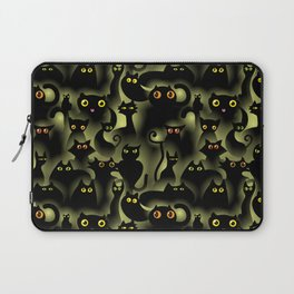 black cat pride Laptop Sleeve