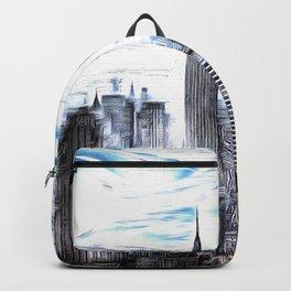 Manhattan Art Backpack