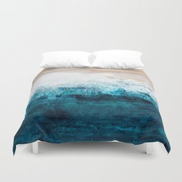 Watercolour Summer beach III Duvet Cover